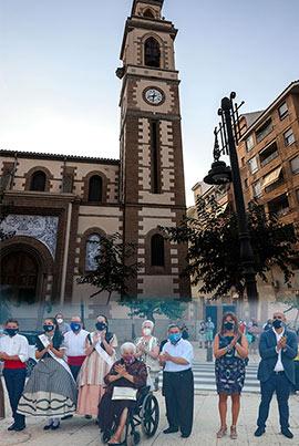 Celebrando la festividad de la Virgen del Carmen en el Grau de Castelló