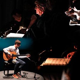 Sesiones del Certamen Internacional de Guitarra Francisco Tárrega