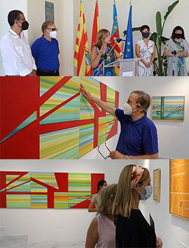 Villa Elisa abre sus puertas al universo abstracto de Wences Rambla
