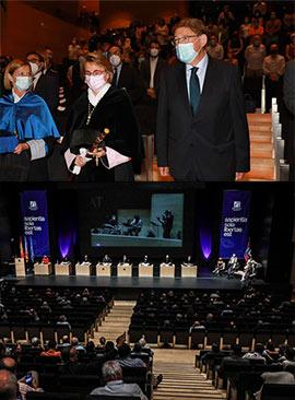 La Universitat Jaume I celebra el solemne acto de apertura del curso académico 2021-2022