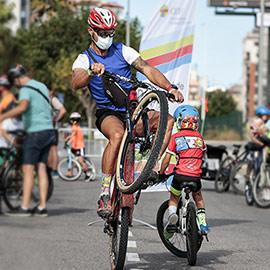 Marcha en bici de la Semana de la Movilidad en Castelló