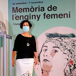 Exposición de Delia Díaz en el Espai Cultural Obert-ECO Les Aules