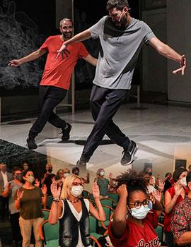 Transmissions, espectáculo de danza en la Sala San Miguel de la Fundació Caixa Castelló