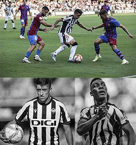 2-0 en el partido del CD Castellón contra el Barça B