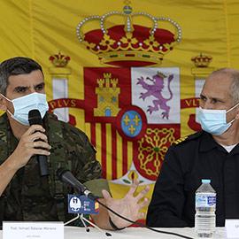 Presentación en Castellón de la activación de defensa aérea Eagle Eye 21-03