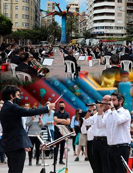 La Banda Municipal de Castelló pone la música del 9 de octubre