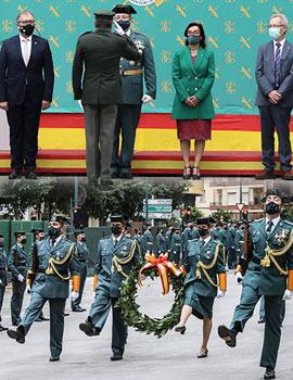 La Guardia Civil de Castellón celebra el día de su Patrona, la Virgen del Pilar