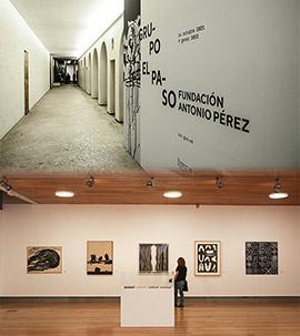 La obra de los artistas del Grupo El Paso en el Museo de Bellas Artes de Castellón