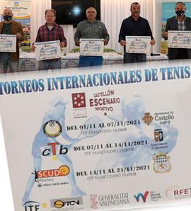 Presentación de los torneos internacionales World Tennis Tour de nuestra provincia