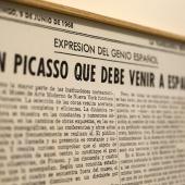 Picasso. El viaje del Guernica